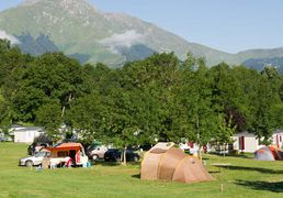 The Camp Sites in Saint-Lary, Pyrenees
