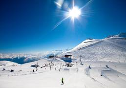 The ski resort of Saint-Lary, in the Pyrenees