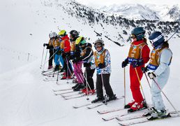 The ski schools of Saint-Lary in Pyrenees