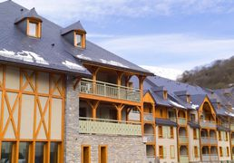 Residences of Saint-Lary, in Pyrenees