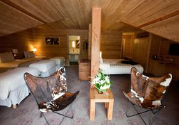 The hotels of Saint-Lary, in Pyrenees