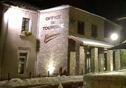 The Tourist Office of Saint-Lary in winter, Pyrenees