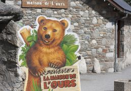 Sites to be visited of Saint-Lary, in Pyrenees