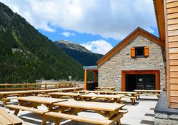 High altitude accomodation of Saint-Lary, in Pyrenees