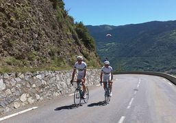 Round of bikes in summer, to Saint Lary in Pyrenees
