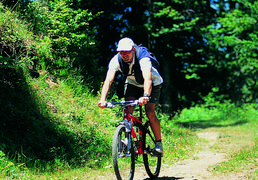 The Mountain Bike, one of the sports of Saint-Lary in summer, Pyrenees