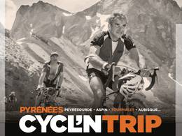 Cycl'N Trip,ascent of the Pyrenees passes, Saint-Lary