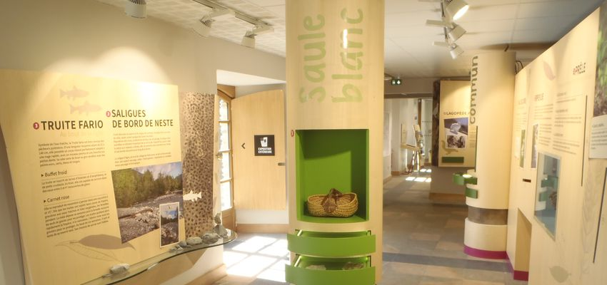 Museographic space of National Park Centre of Pyrenees, Saint-Lary