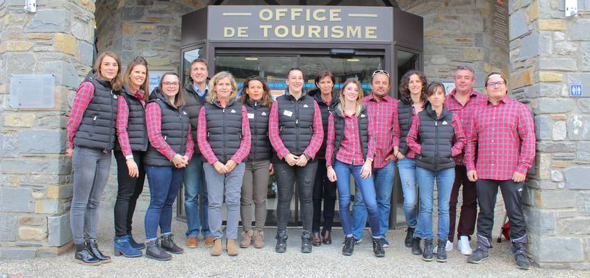 team of tourist office of saint lary