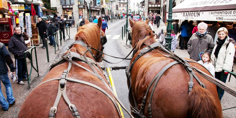 Stroll in carriage to Saint-Lary, Pyrenees