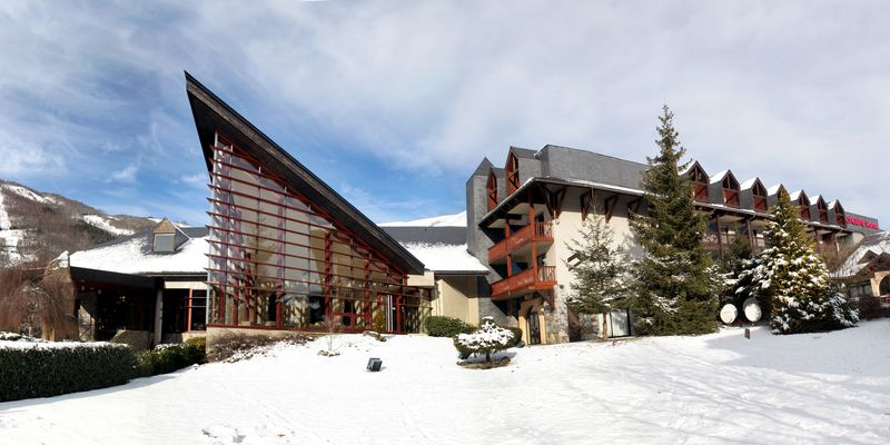 The space Sensoria Fitness to Saint-Lary in Pyrenees