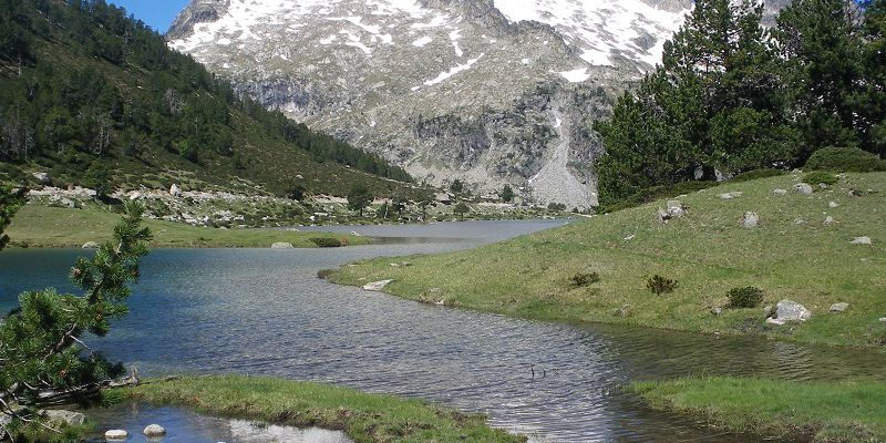 Néouvielle Nature Reserve, close to Saint Lary