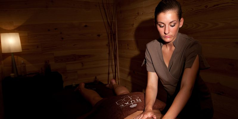 Massage to the SPA SENSORIA NUXE to Saint-Lary in Pyrenees