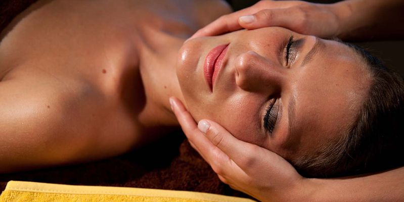 A facial skincare to Sensoria Spa Nuxe, to Saint Lary in Pyrenees