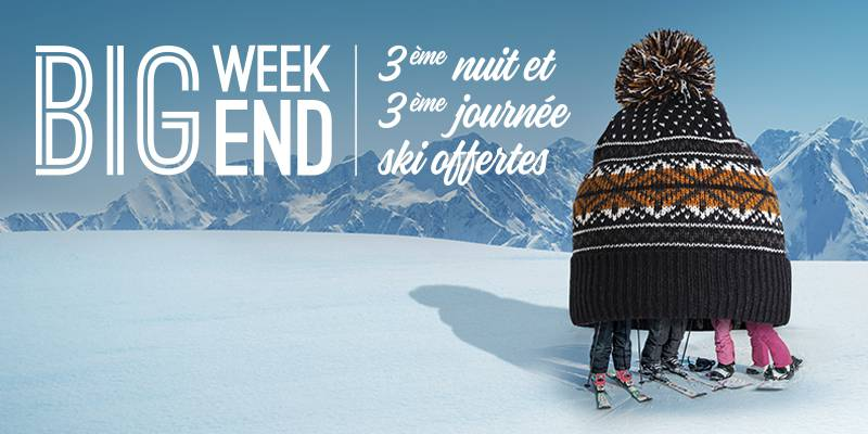 Offre Big week-end Saint-Lary