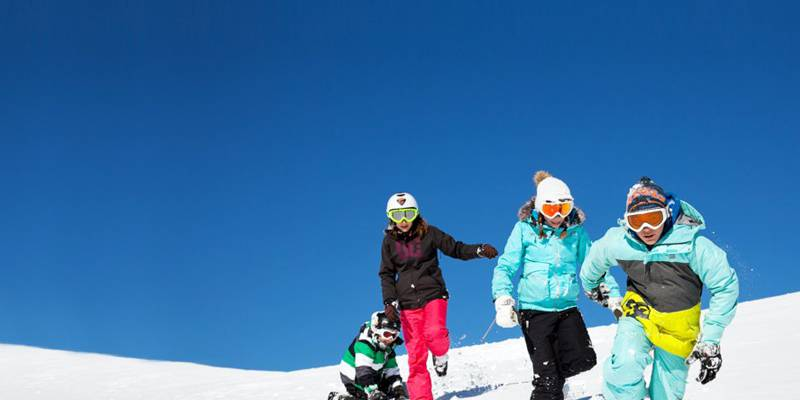 Skiing in Saint-Lary with your family